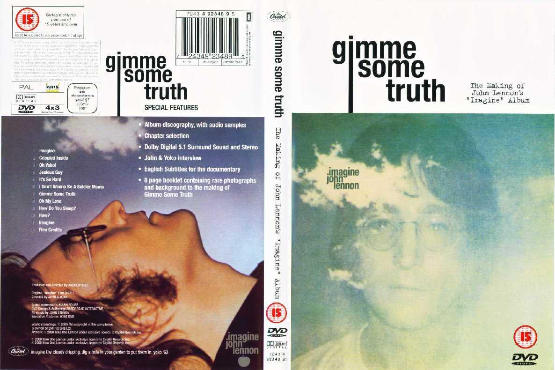 John Lennon Gimme Some Truth The Making Of John Lennon S Imagine Album Dvd