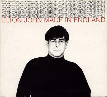 elton john made in england cd single. Black Bedroom Furniture Sets. Home Design Ideas