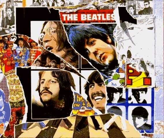 Beatles She Came In Through The Bathroom Window Lyrics: Anthology 3