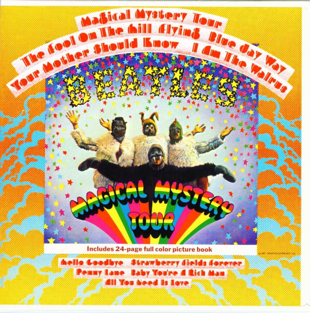 Magical Mystery Tour Vinyl Mono