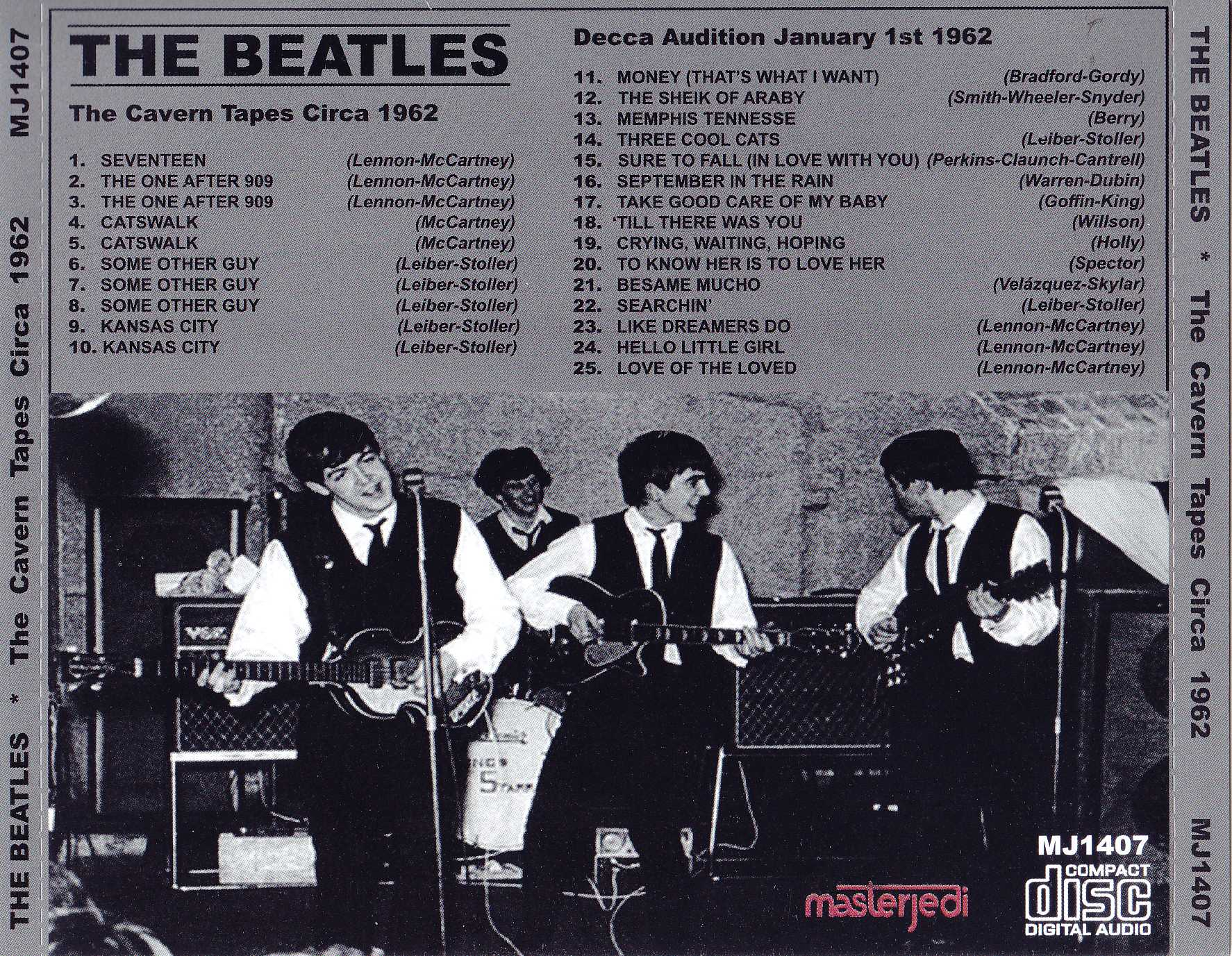 The Beatles - The Cavern Tapes Circa 1962